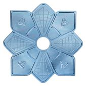 Prato-Diamond-Hookah-Azul