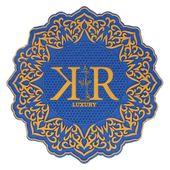 Tapete-KR-Luxury-Azul-com-Dourado