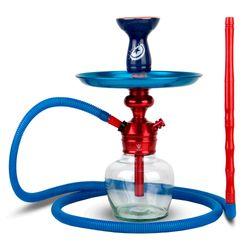 Narguile-Completo-Pequeno-Triton-Zip-PlusCom-Base-Ninja-Genie---Setup-Zip-Plus-Vermelho-com-Azul-1