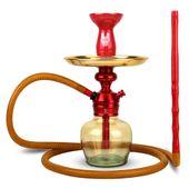 Narguile-Completo-Pequeno-Triton-Zip-PlusCom-Base-Ninja-Genie---Setup-Zip-Plus-Vermelho-com-Dourado-1