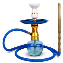 Narguile-Completo-Pequeno-Legacy-Flush-Plus-Com-Base-Ninja-Jumbinho---Setup-Flush-Plus-22-Azul-com-Dourado1