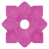 Prato-Love-Hookah-Pequeno-Diamond-Slim-Rosa