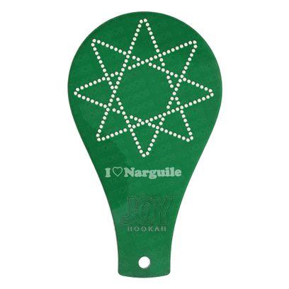 Tag-Furador-Joy-Star-Verde-Escuro