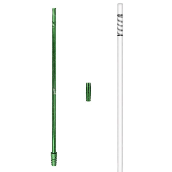 Mangueira-Love-Hookah-Silicone-Branco-Verde